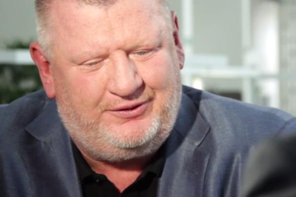 Ivo Rittig při rozhovoru pro DV TV v létě 2014. Repro: dvtv.cz