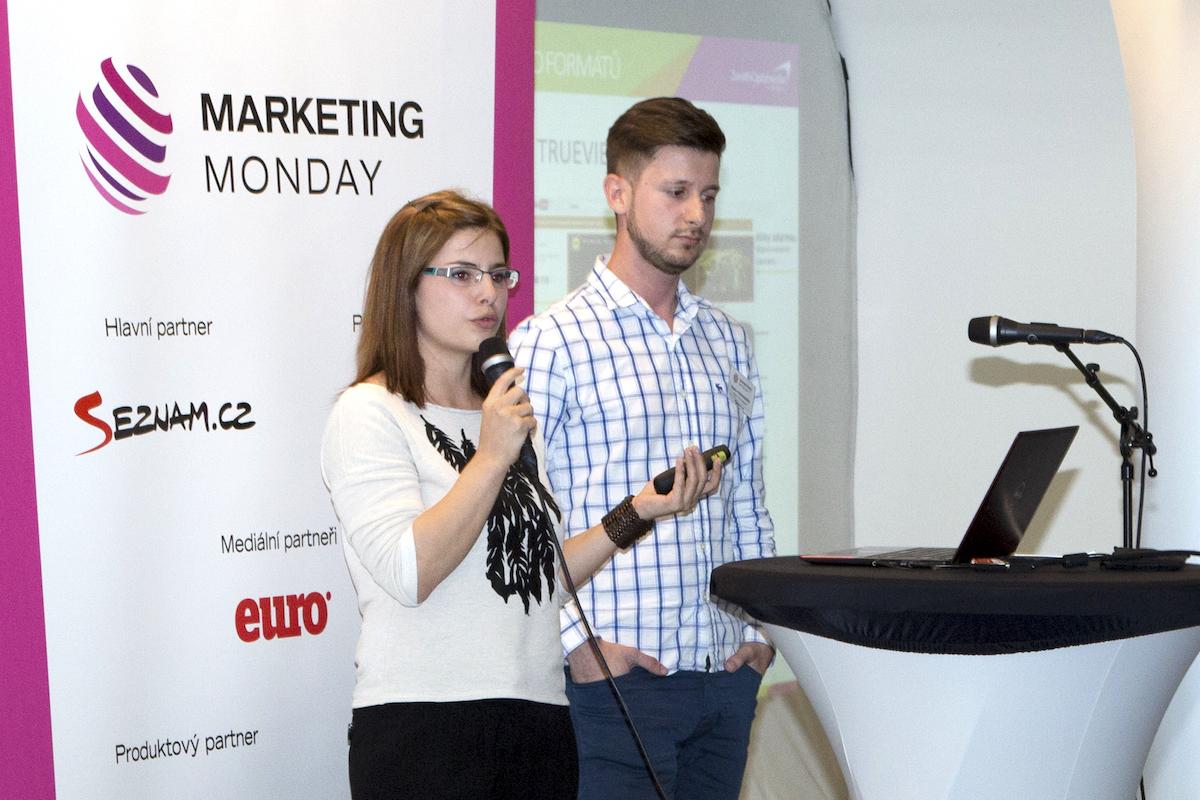 Olga Szélesová a Zlatko Teskeredžič z mediální skupiny ViVaKi. Foto: Internet Info