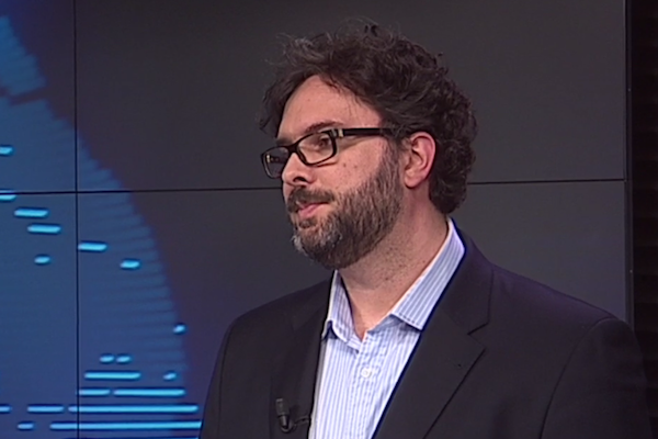 Erik Zabery v Newsroomu ČT24