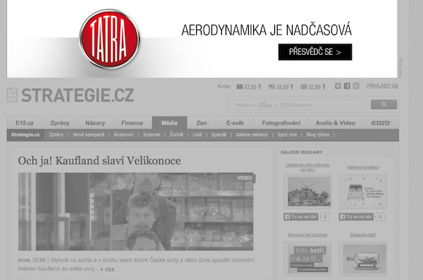 Online reklama na webu Strategie