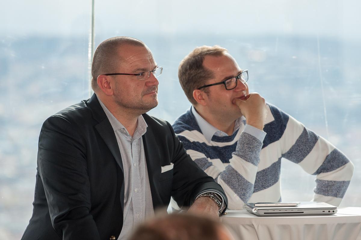 Martin Vedej a Radek Vašíček z agentury Httpool. Foto: Martin Holcman