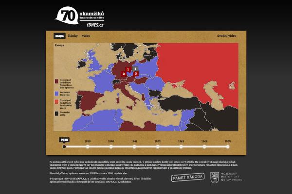 iDnes.cz spustil online speciál o válce