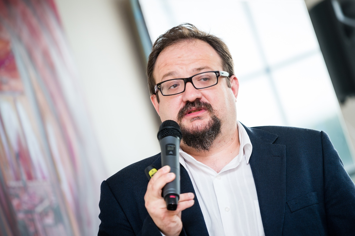 Josef Šlerka ze Socialbakers. Foto: Vojta Herout
