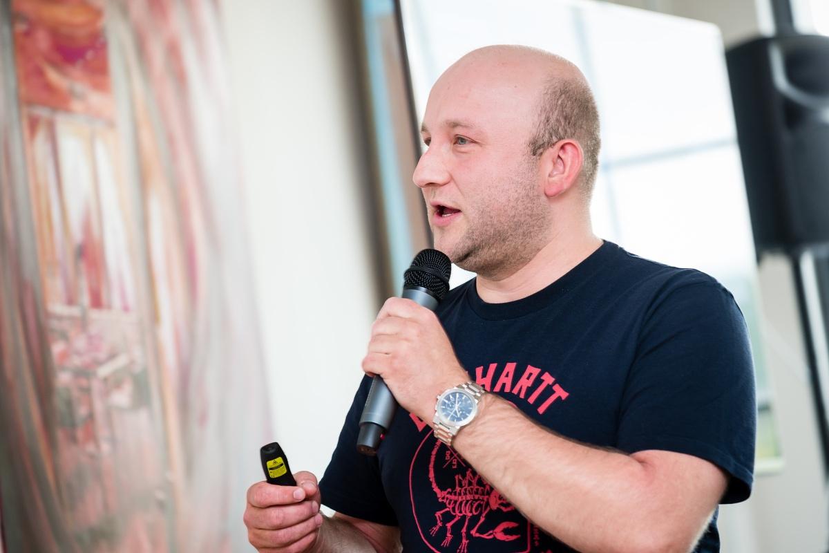 Tomáš Votruba z TL5 Digital. Foto: Vojta Herout