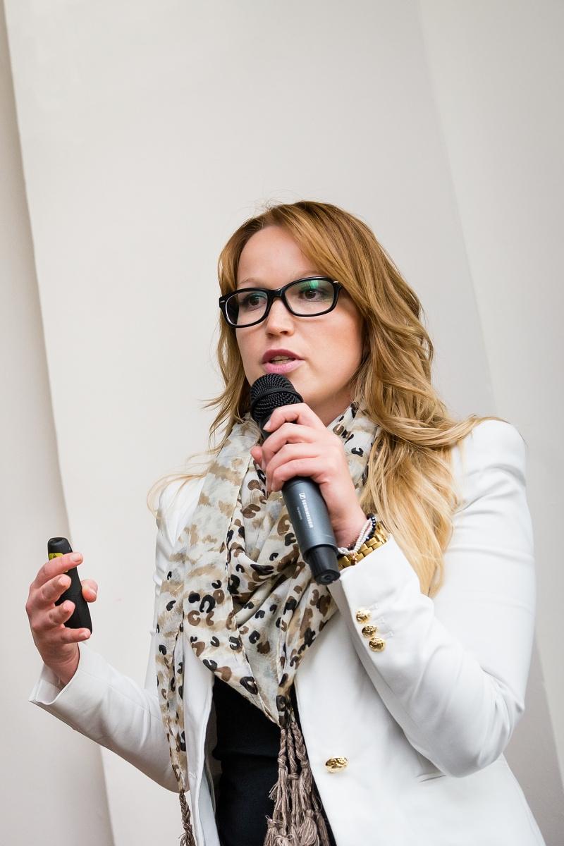 Martina Kadlecová ze Škoda Auto. Foto: Vojta Herout