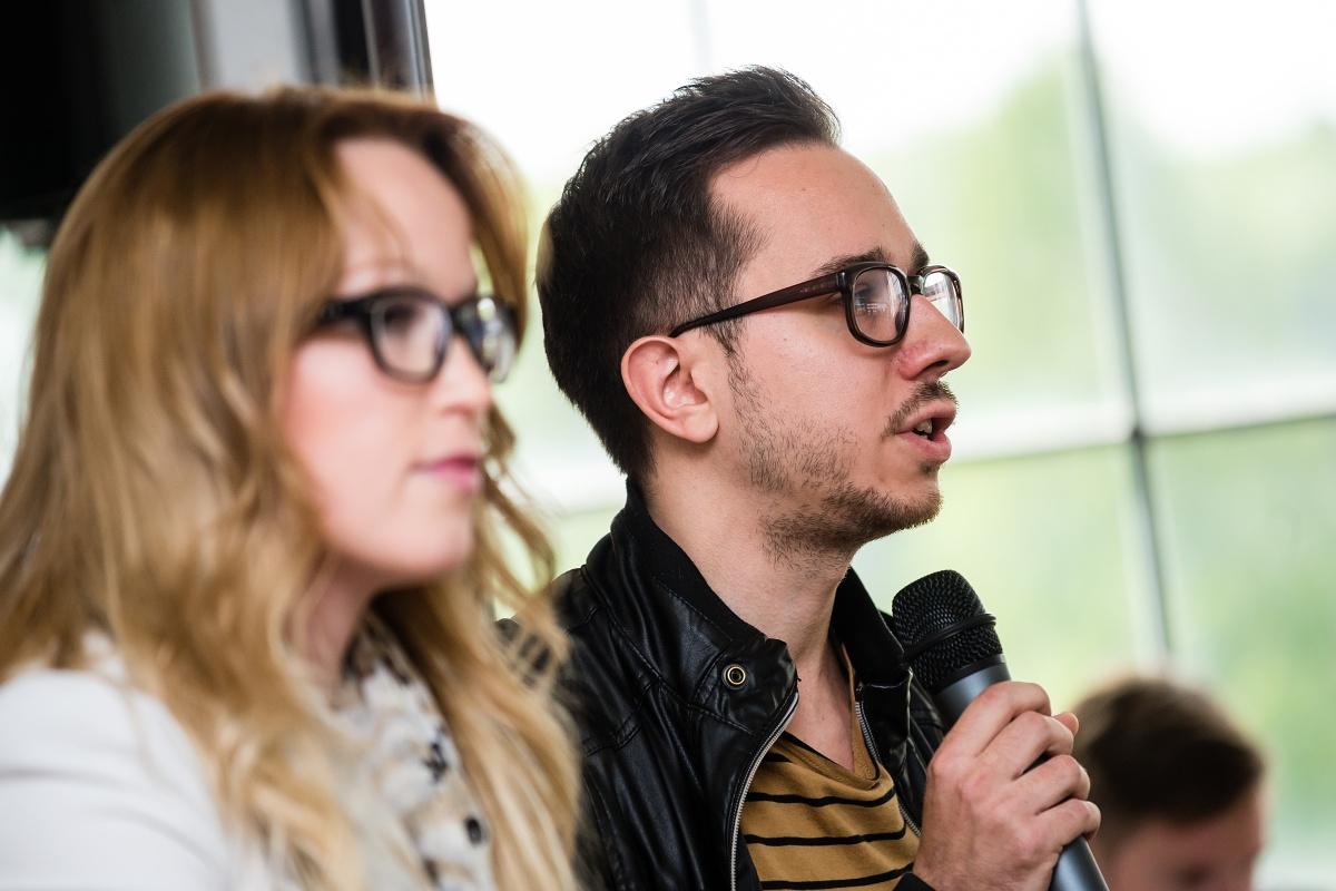 Martina Kadlecová ze Škodovky vystoupila s Petrem Mižíkem z agentury Zaraguza