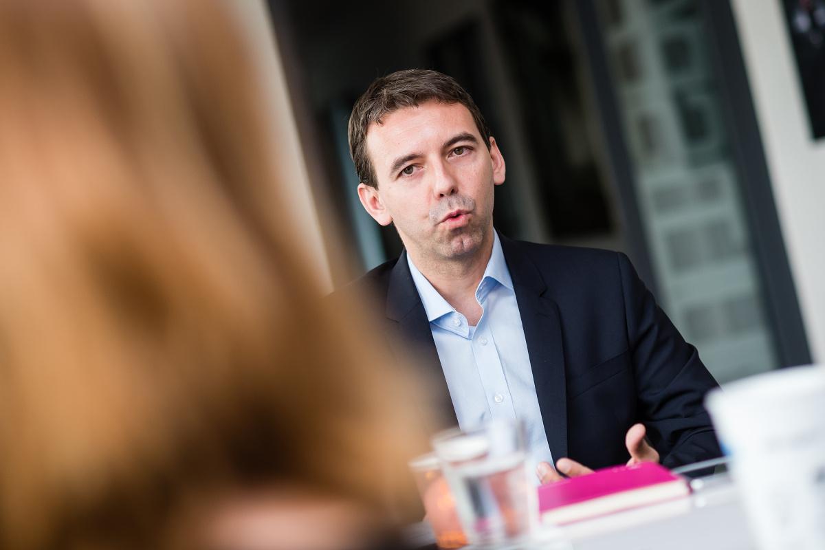 Václav Zadina z T-Mobilu. Foto: Vojta Herout