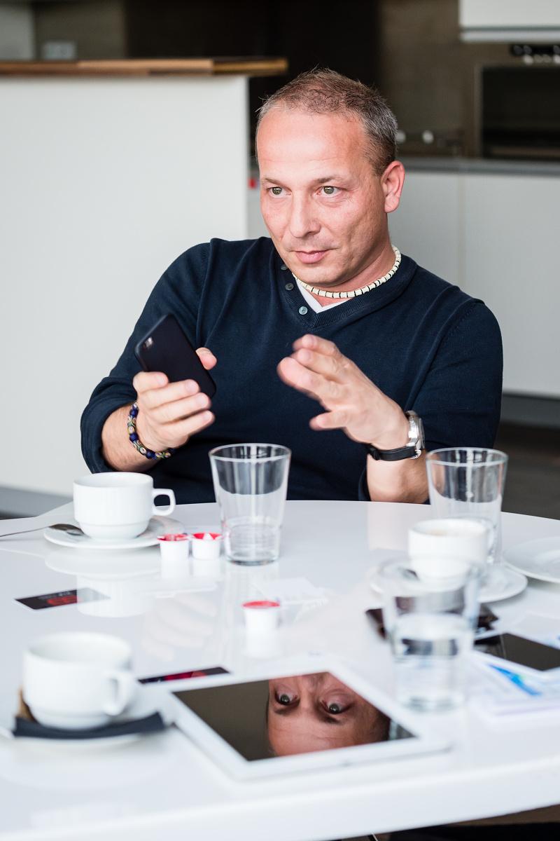 David Duroň z O2. Foto: Vojta Herout