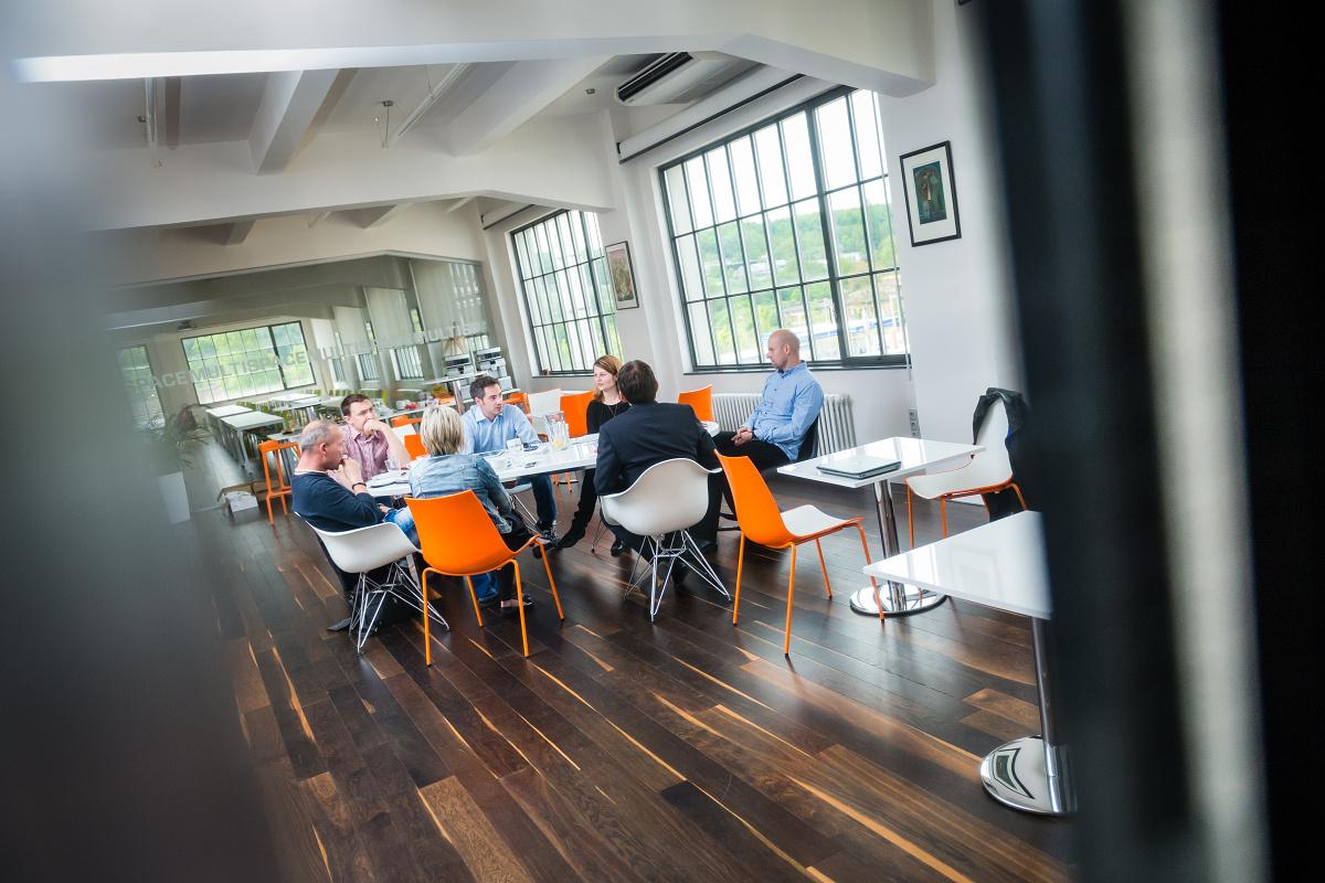 Media Brunch Médiáře probíhá v prostorách našeho Global Centra. Foto: Vojta Herout