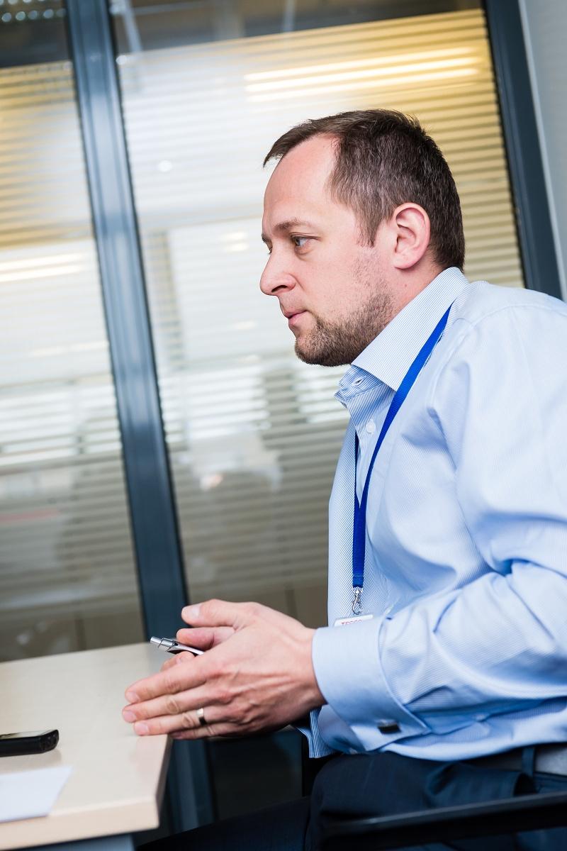 Peter Koubek, manažer služby Tesco Potraviny online. Foto: Vojta Herout