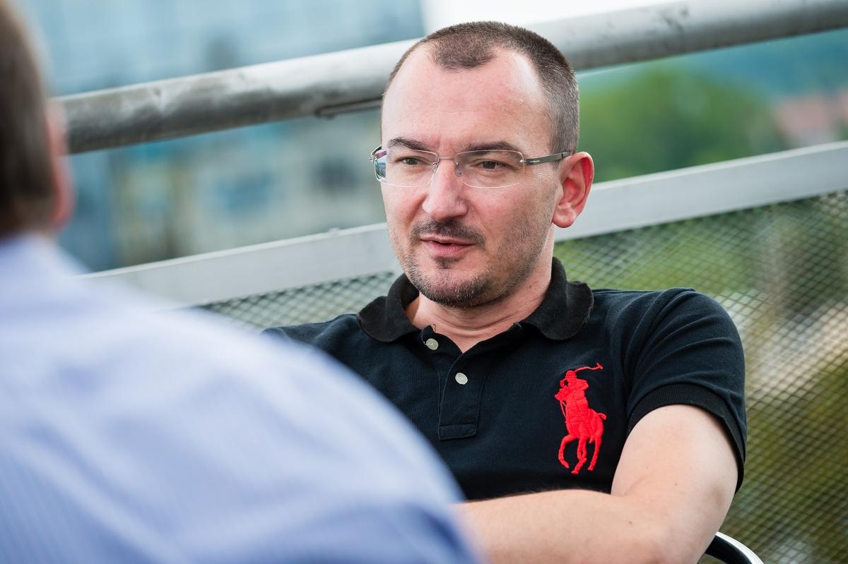 Tomáš Průša. Foto Vojta Herout
