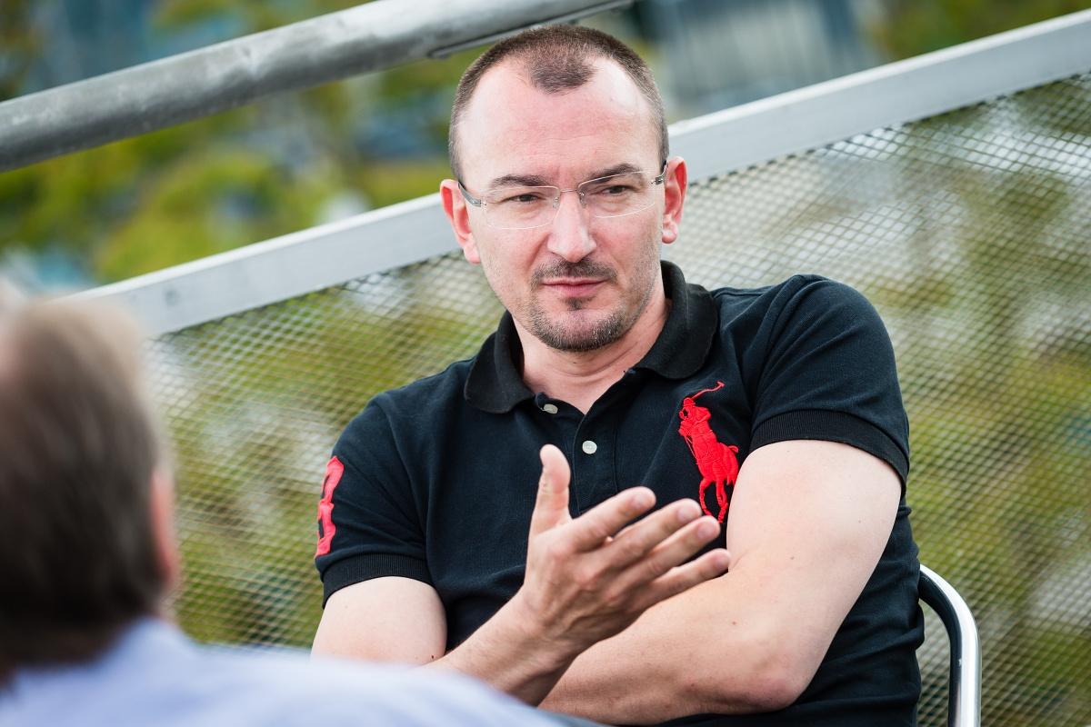 Tomáš Průša. Foto: Vojta Herout