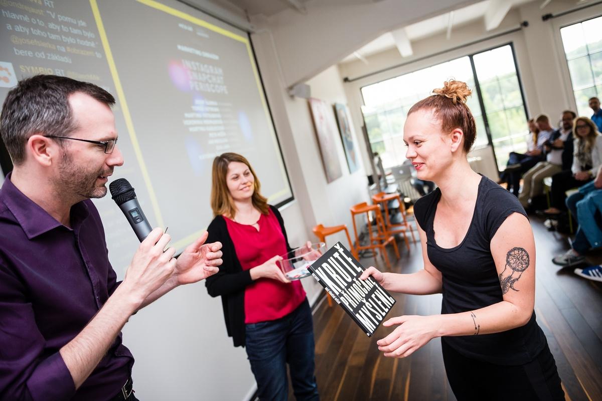 Mezi výherkyněmi byla i Anna Březinová, která v pondělí soutěžila na naší AppParade