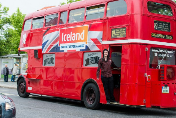 Potravinářský řetězec Iceland je nejvíc vidět v domovské Británii