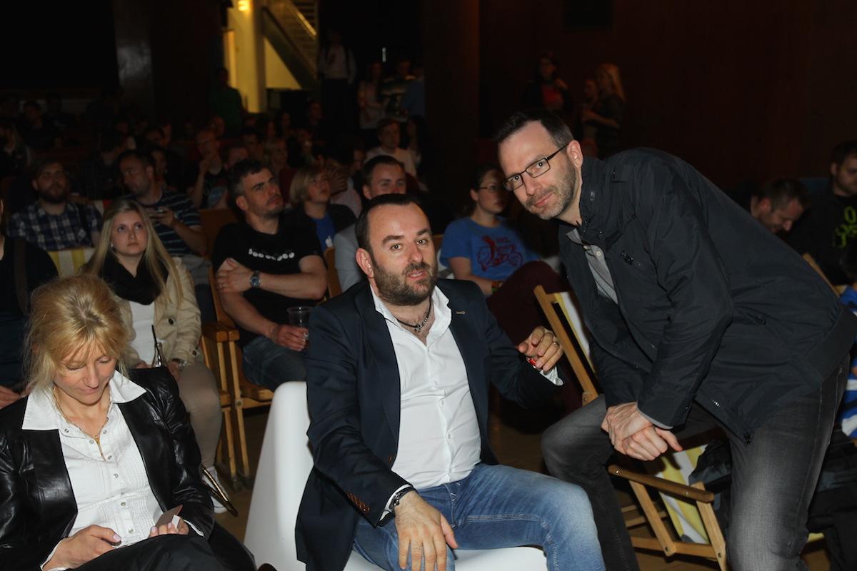 Vydavatelé Médiáře Michal Bařina a Ondřej Aust