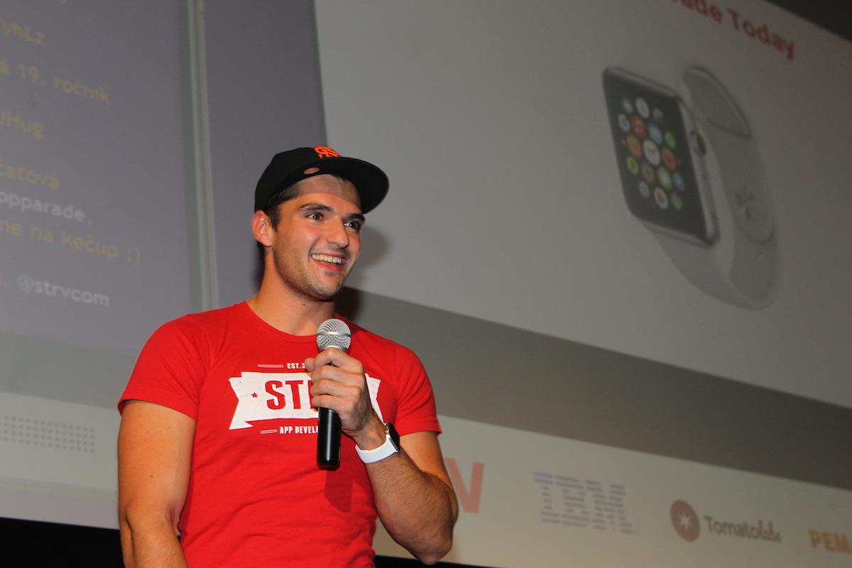 Lubo Smid ze Strv mluví o aplikacích pro chytré hodinky Apple Watch