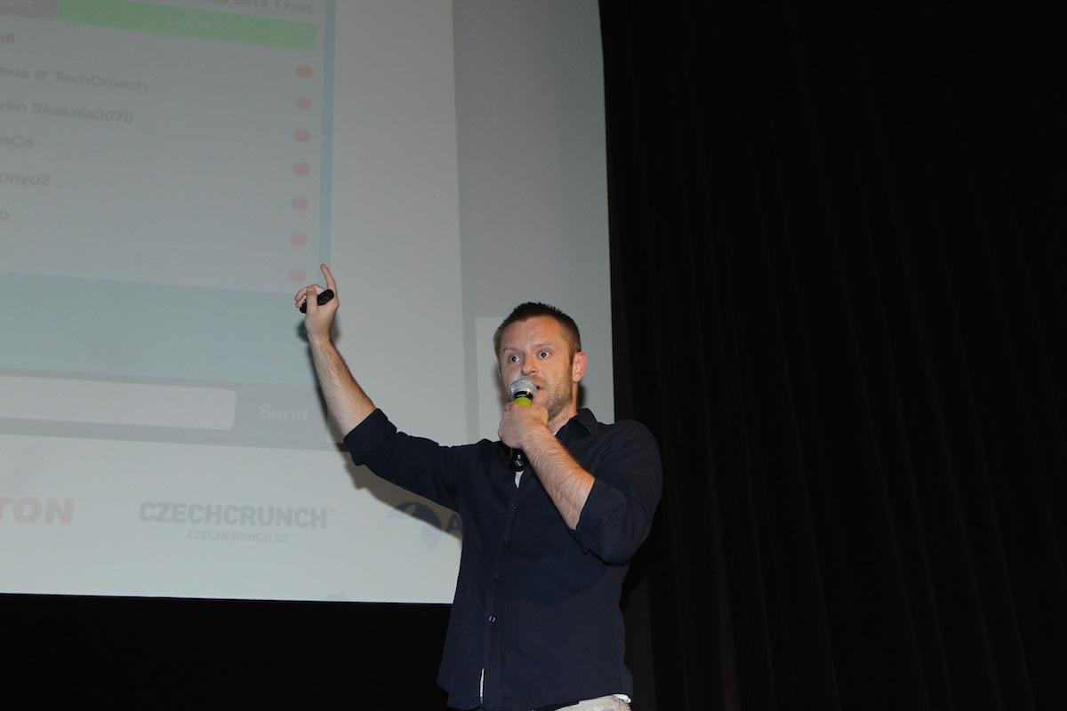 Martin Skakala přijel ze Slovenska s aplikací WakesApp