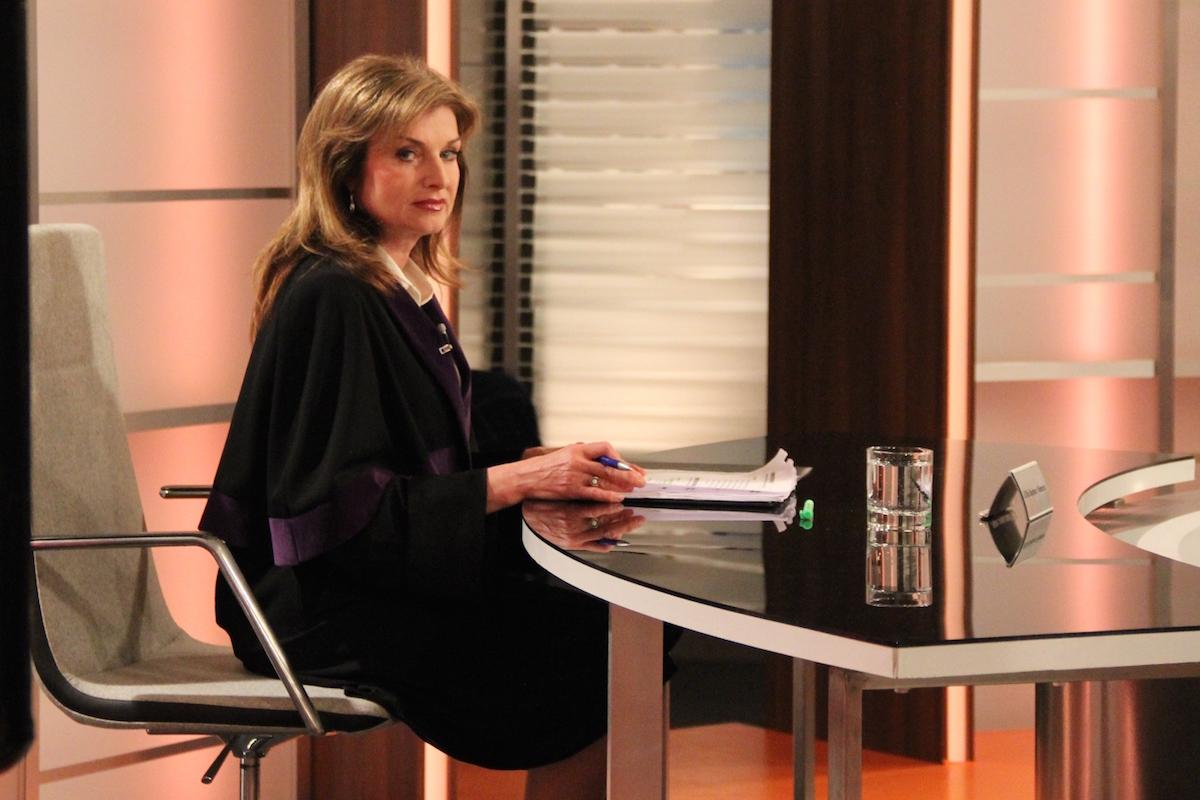 V jedné z rolí soudkyně Barbory se představí Simona Prasková. Foto: TV Barrandov