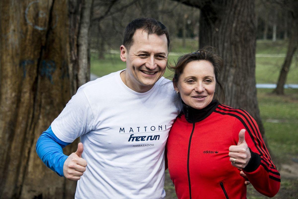 Projekt Mattoni Free Run podporují Vojtěch Bernatský a Ludmila Formanová