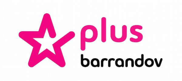 Logo nové stanice Barrandov Plus