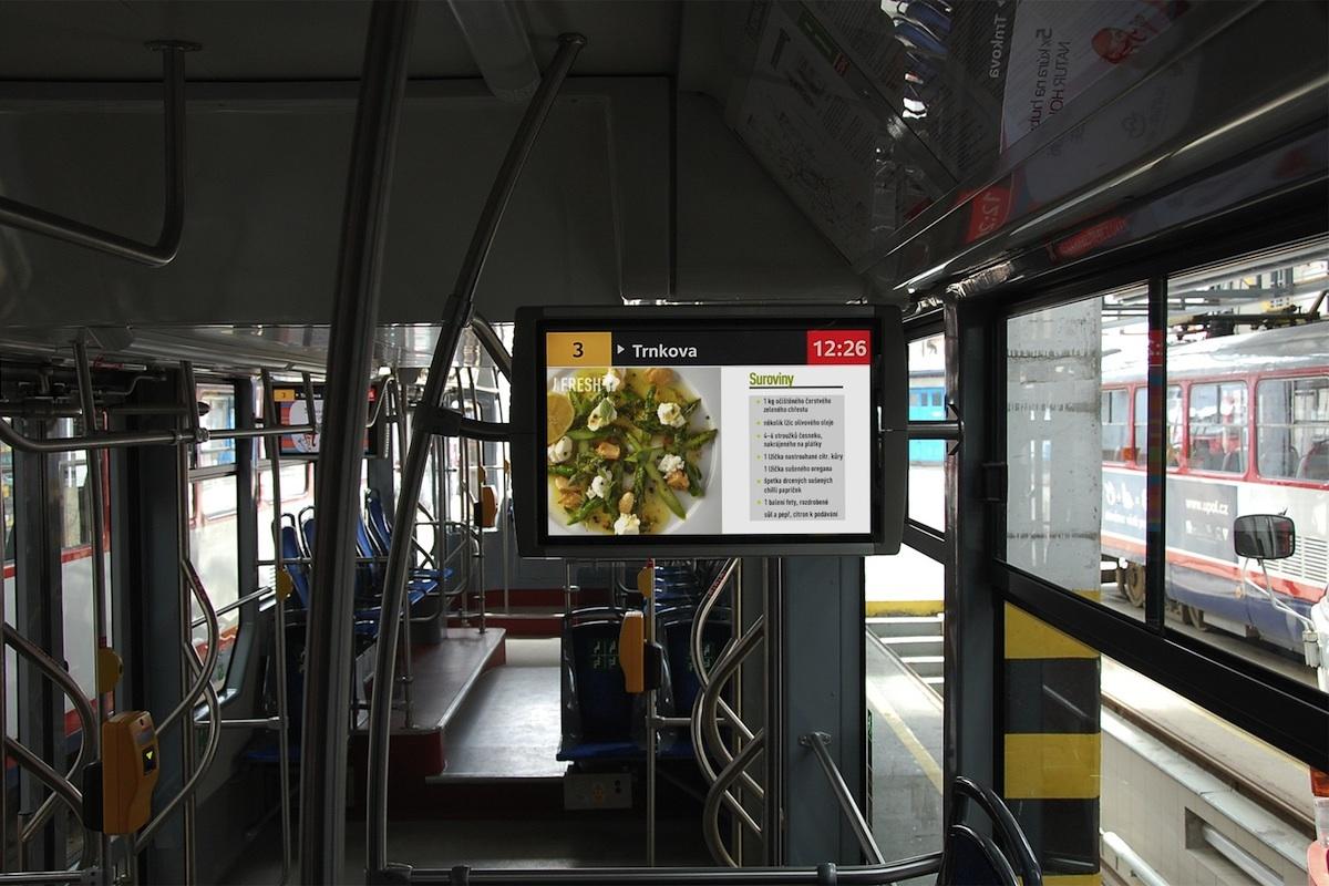 Web Prima Fresh začne do Bus TV dodávat sezonní recepty