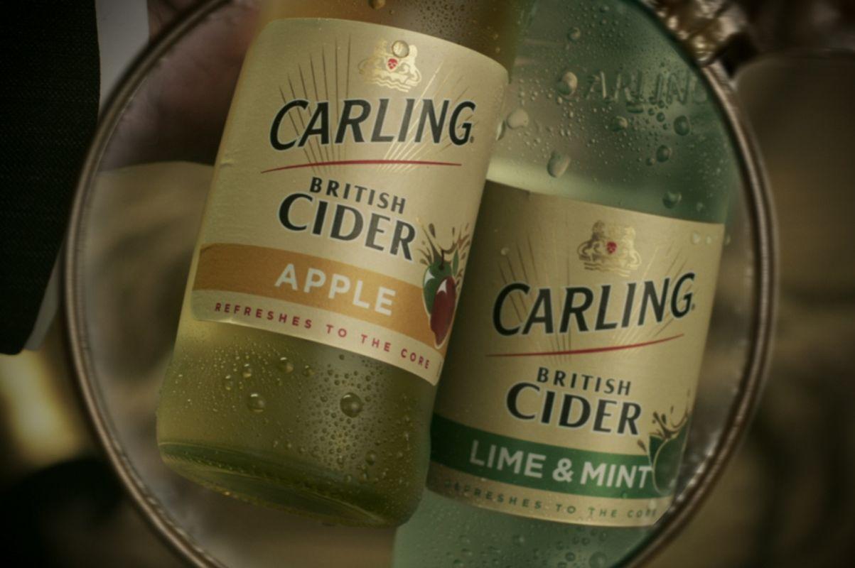 Carling British Cider uvedl nové příchutě