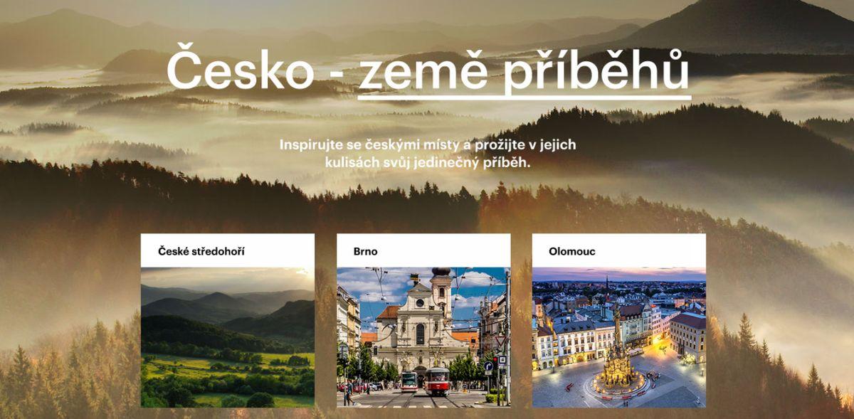 Dlouhodobá marketingová strategie Czechtourismu nese název Česko - země příběhů