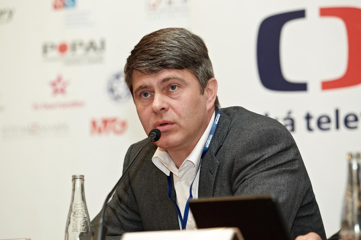 Marek Singer na konferenci Digimedia. Foto: Jiří Matula