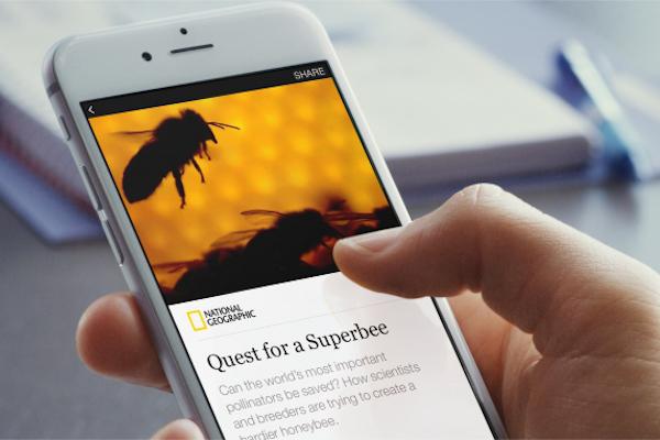 Instant Arcticles na Facebooku. Repro: facebook.com