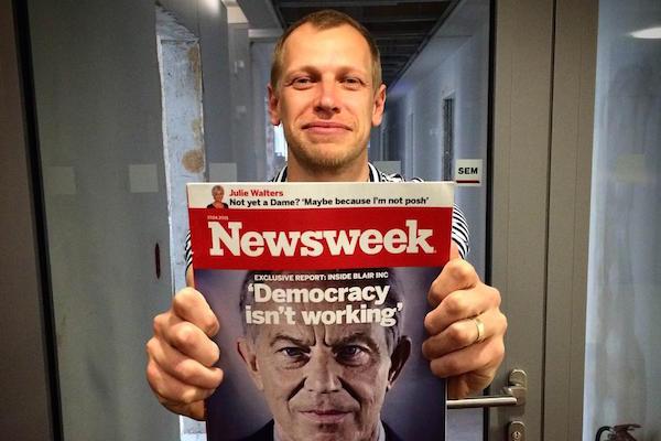 Nádoba v čele českého Newsweeku končí