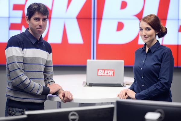 Jan Kálal a Klára Brunclíková. Foto: Czech News Center/Martin Sekanina