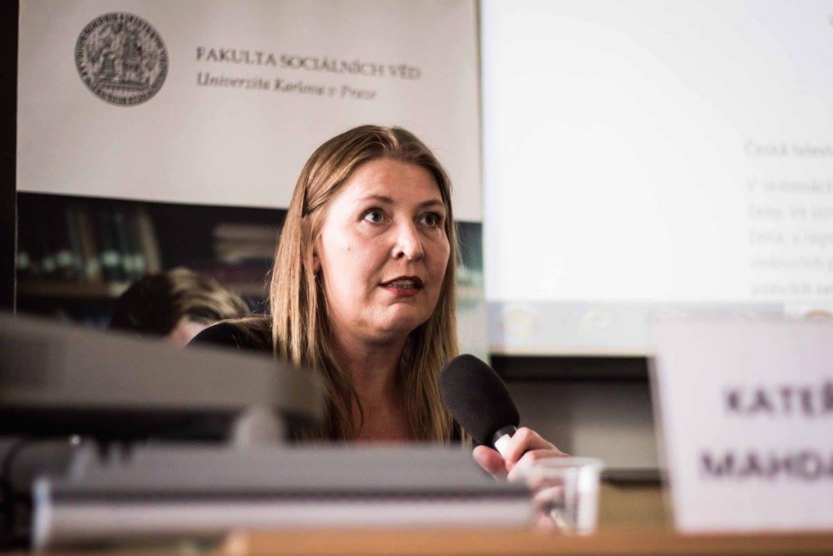 Kateřina Mahdalová. Foto: Kateřina Písačková