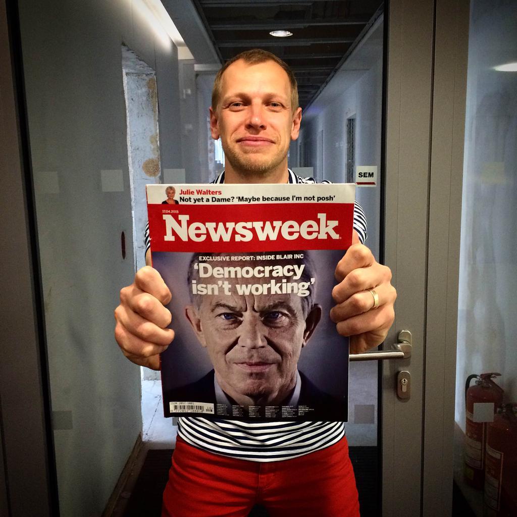 Českému Newsweeku bude šéfovat Jiří Nádoba. Foto: MediaRey