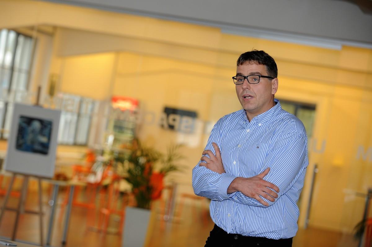 Petr Horák, šéf internetových aktivit Novy. Foto: Martin Kabát