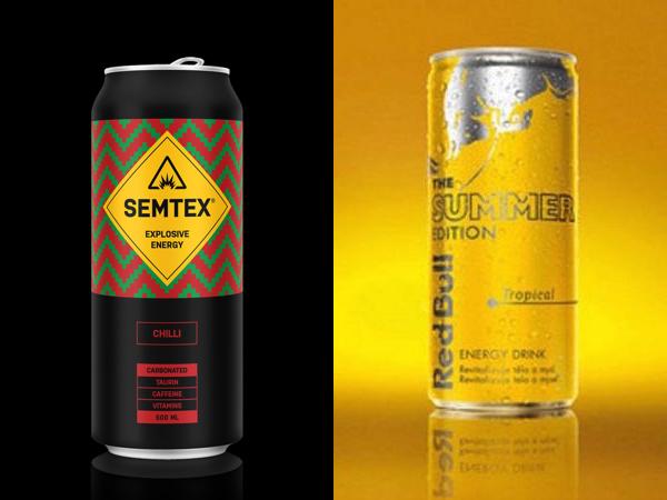 Semtex Chilli a tropický Red Bull