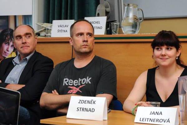 Zdeněk Strnad nedávno pracoval jako volební manažer Pirátů, zde na loňských Rozpravách o médiích