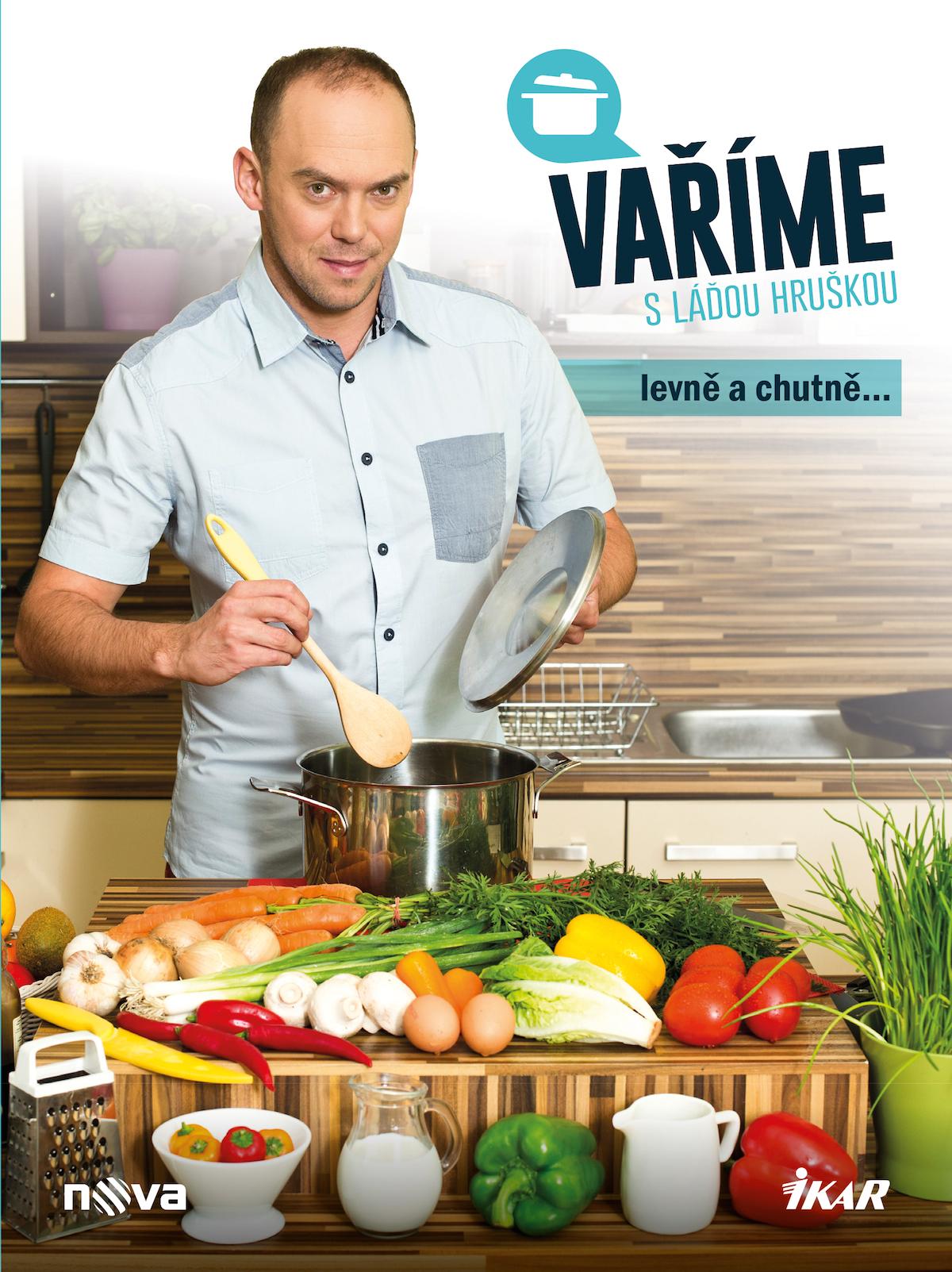 Přebal kuchařky Vaříme s Láďou Hruškou