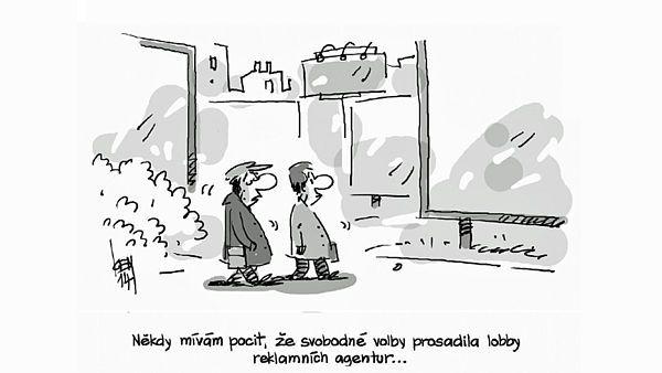 Miroslav Kemel komentuje svými vtipy politickou scénu