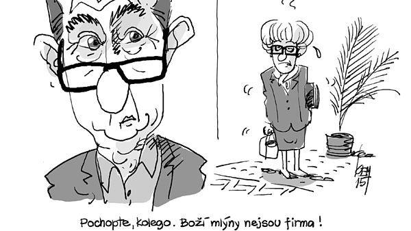 Karikaturistovu peru neunikl ani Andrej Babiš