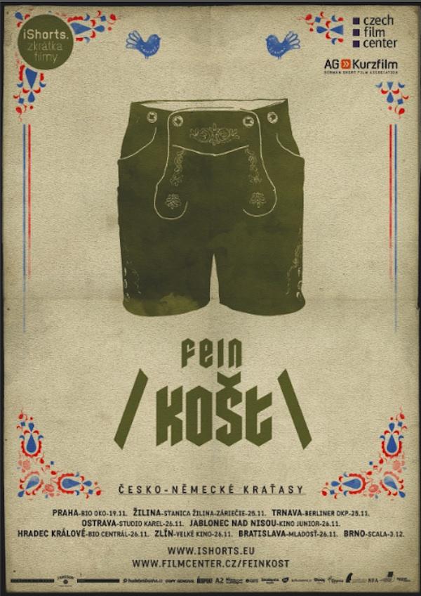 Plakát filmového festivalu iShorts
