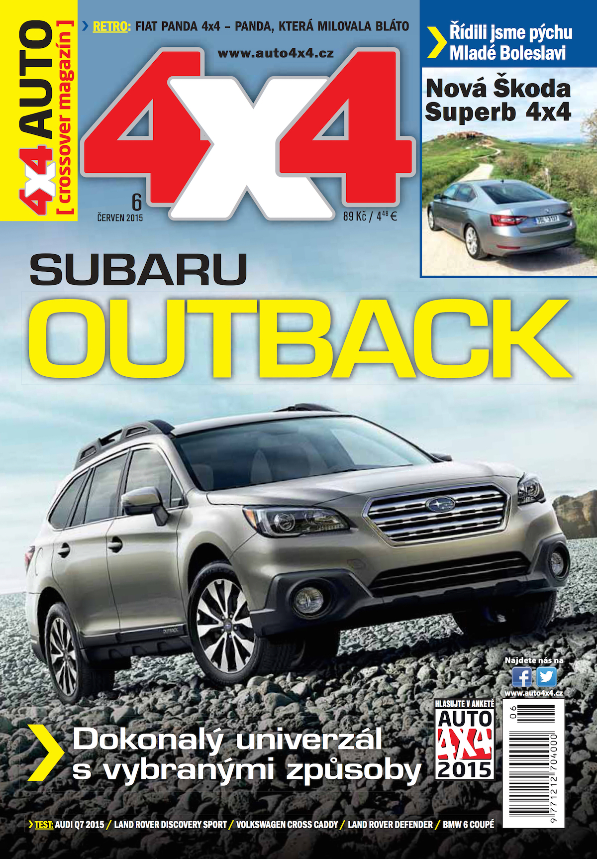 Dosavadní podoba časopisu 4x4 autocrossover magazín