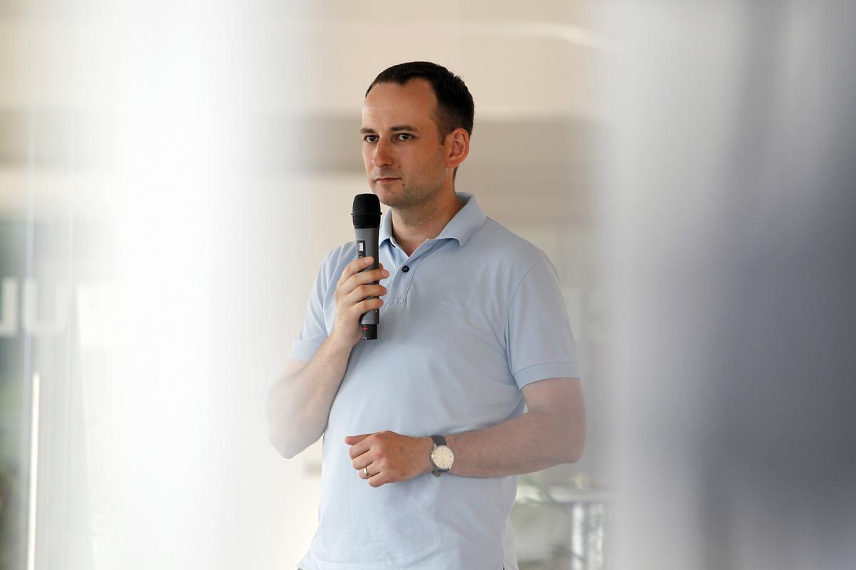 Michal Bilka, šéf týmu mobilních vývojářů Slevomatu. Foto: Jiří Koťátko