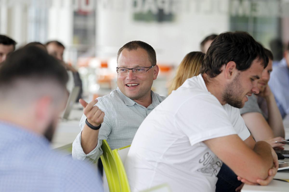 AppParade Meet je o vyměňování zkušeností. Foto: Jiří Koťátko
