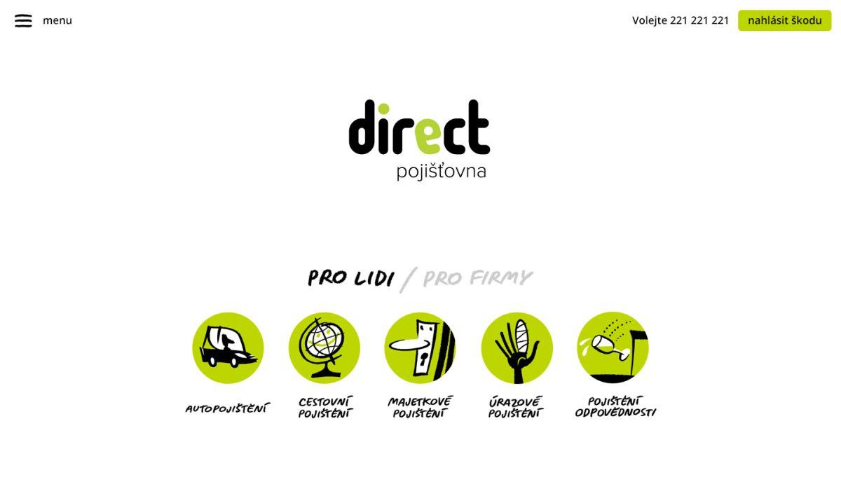 Direct podle svých zástupců cílí na lidi, co hledají jednoduchá řešení