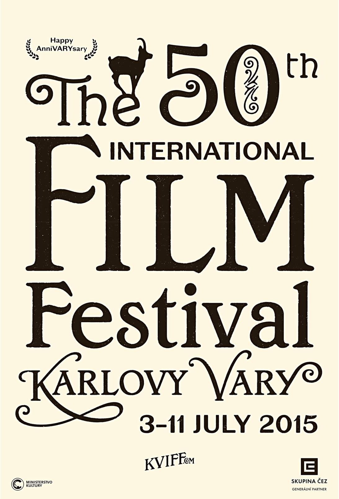 Plakát pro 50. festival v Karlových Varech