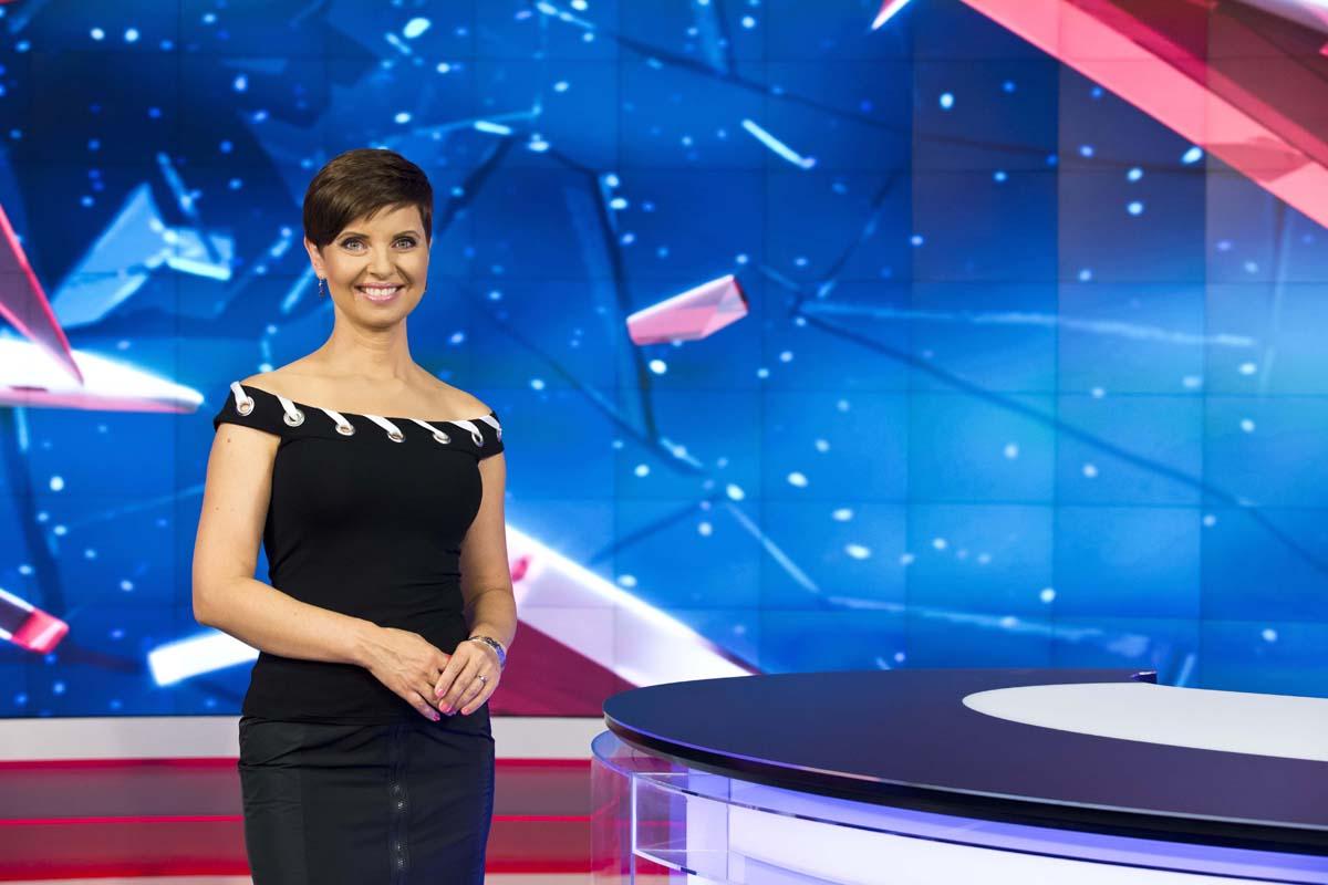 Markéta Fialová, moderátorka televize Nova. Foto: TV Nova