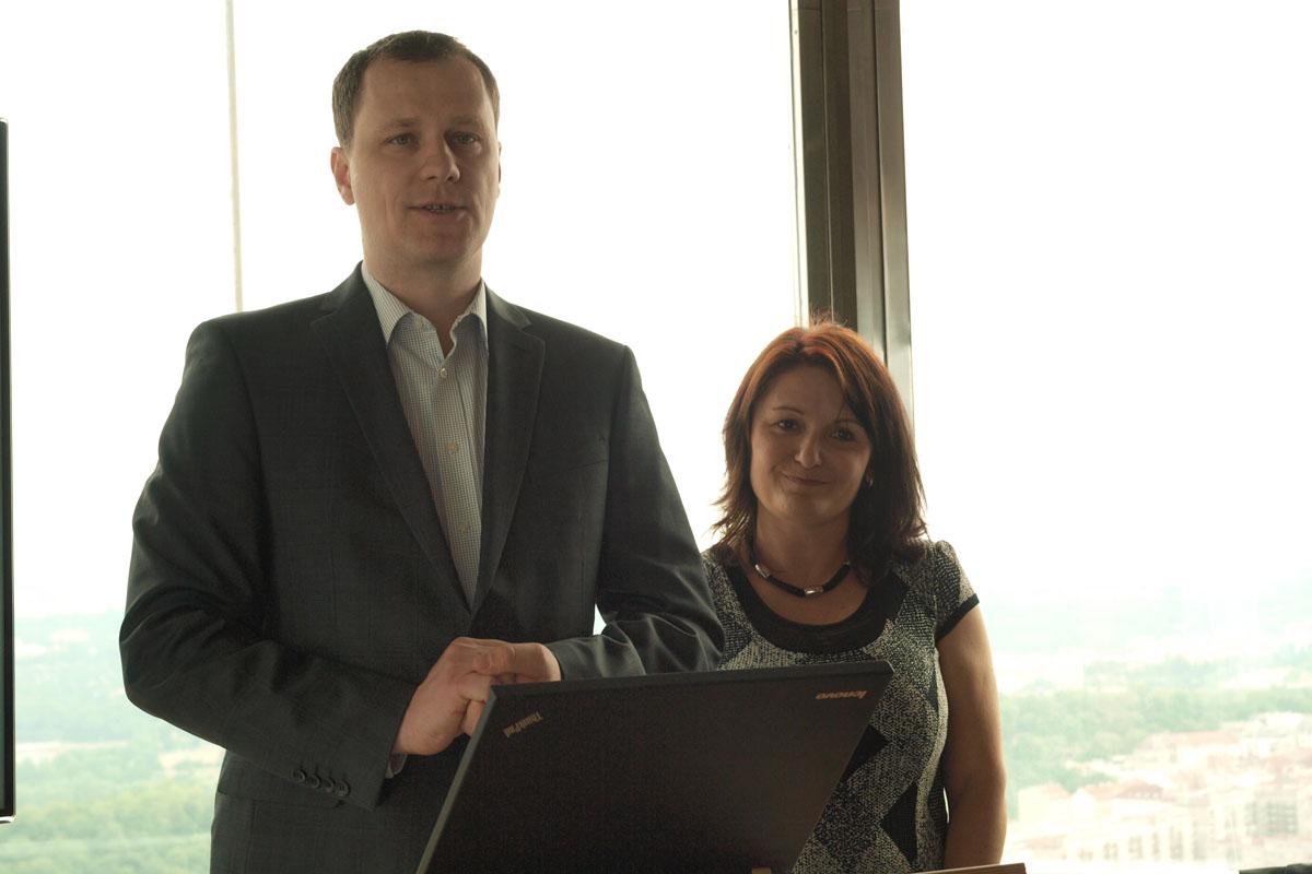 Petr Miláček z Primy a Renata Týmová z ČT vysvětlili koncept měření videoobsahu.