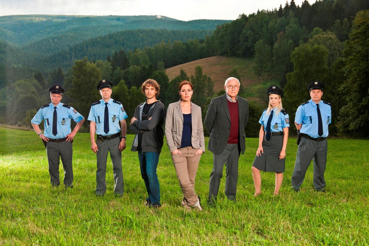 Policie Modrava. Foto: TV Nova