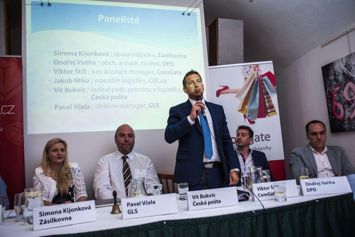 V diskusním panelu vystoupila česká logistická špička
