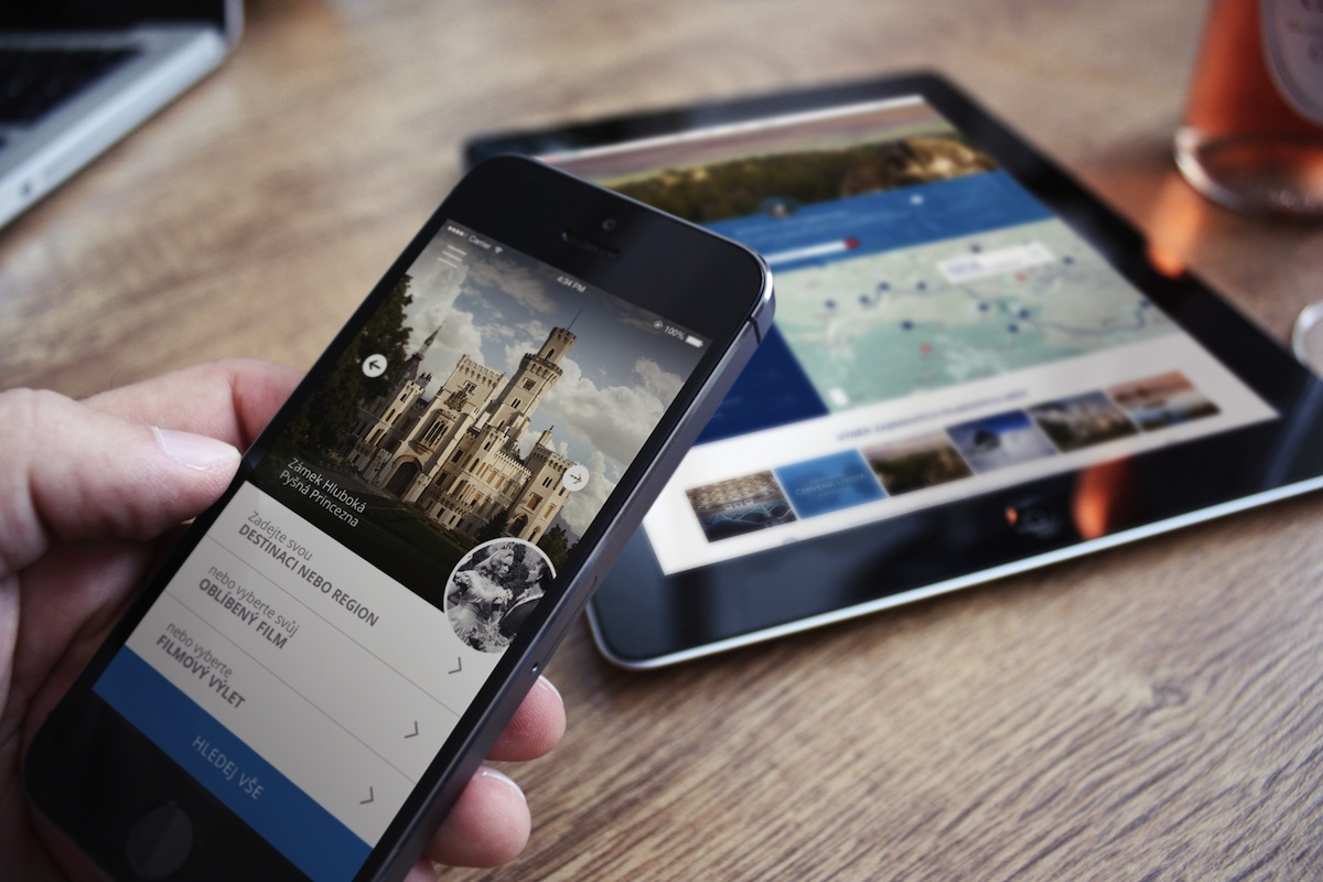 Turisté mohou s aplikací navštívit nejatraktivnější české filmové lokace